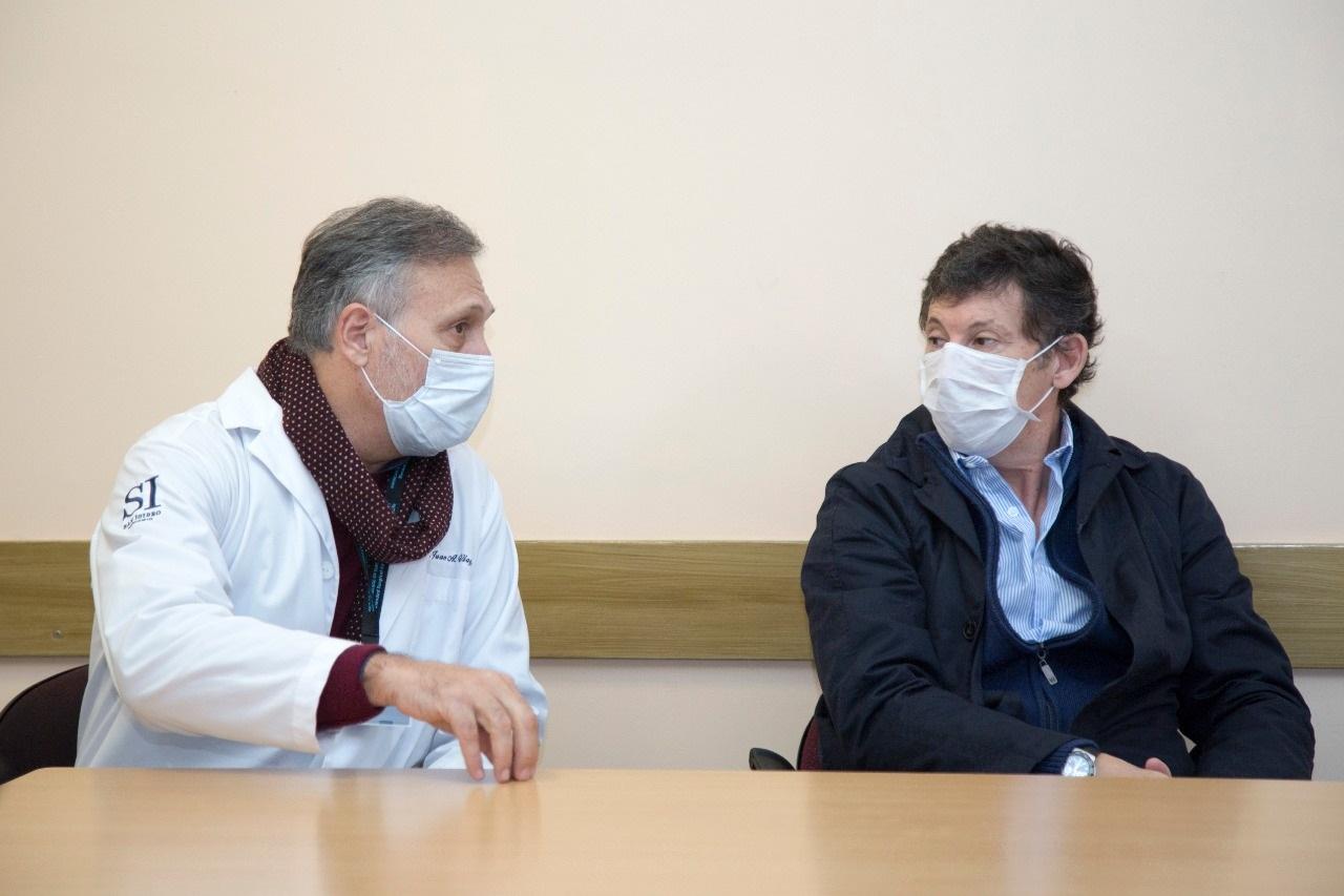 Juan Viaggio, secretario de Salud de San Isidro, dio positivo de coronavirus