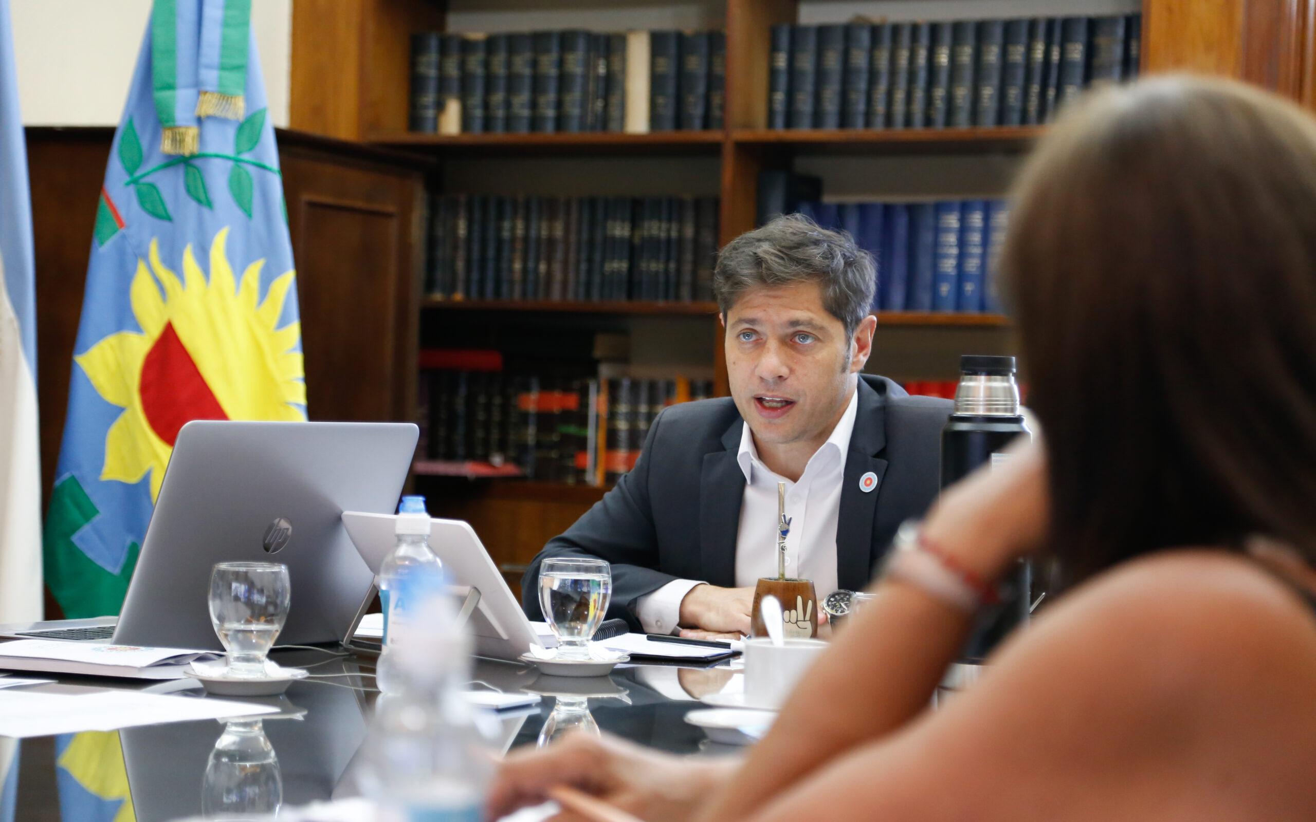 Kicillof evaluó la situación epidemiológica de la Provincia