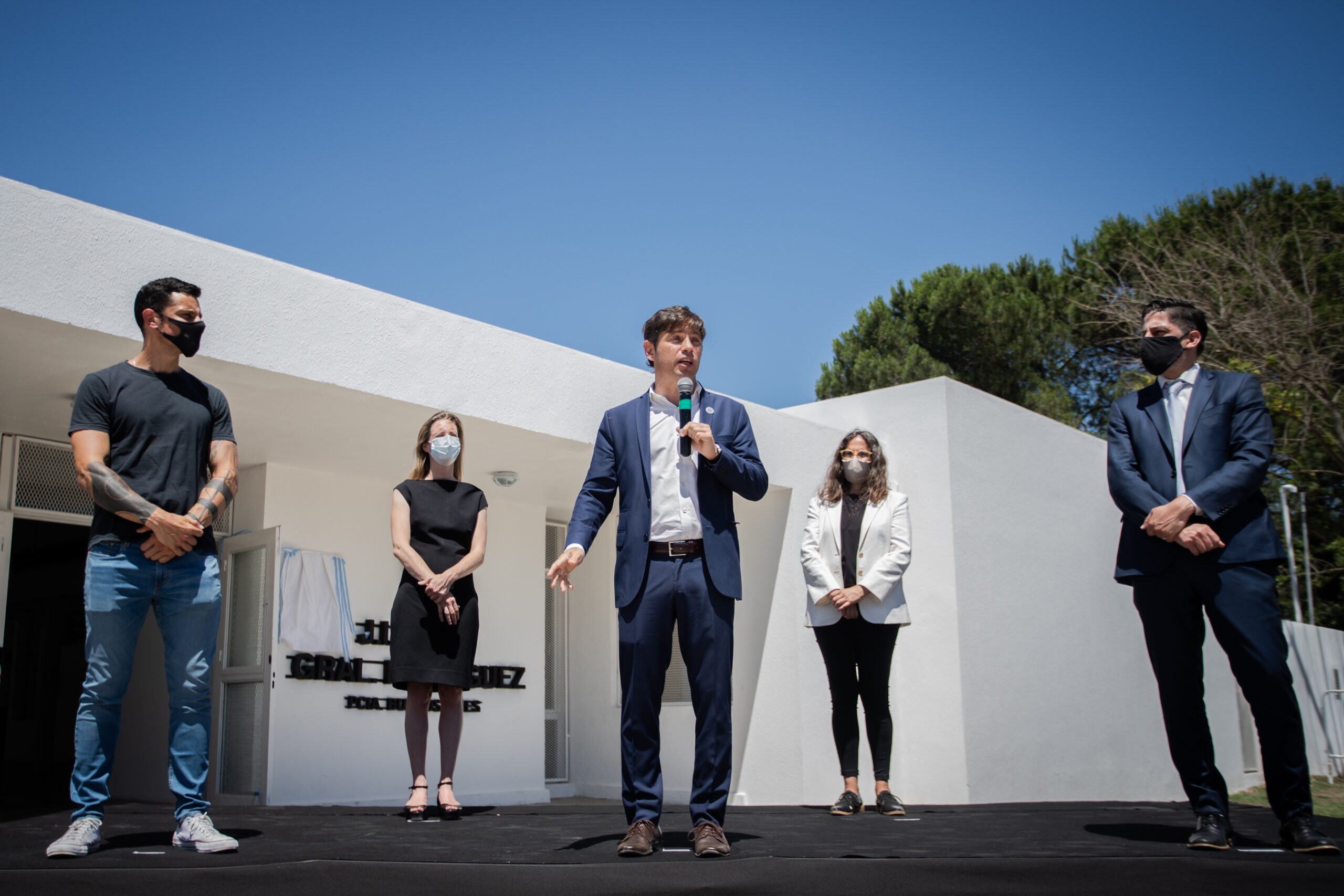 Kicillof inauguró dos jardines de infantes en General Rodríguez